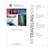 My Traveling Yogi Brochure